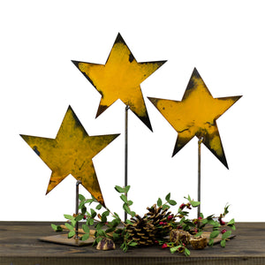 Collectible Star Sculpture – Little star sculpture is so versatile it looks great alone or to accent other tabletop displays for Christmas, 4th of July, or all year round main view