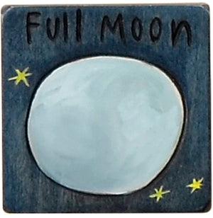 Large Perpetual Calendar Magnet –  Mark a full moon on your large calendar with this blue magnet