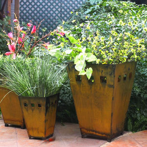 Large Planter - The largest of Prairie Dance's planter set holds bountiful flowering groups or landscape plantings
