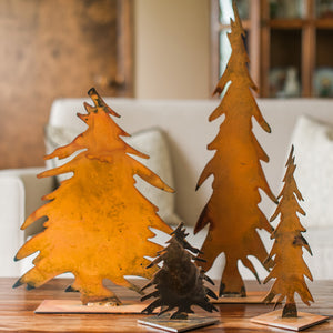 Collectible Tree Sculpture – This cute little pine tree looks best paired up with other tree sculptures or other treasures you already have at home, especially around the holidays displayed with pencil tree sculptures