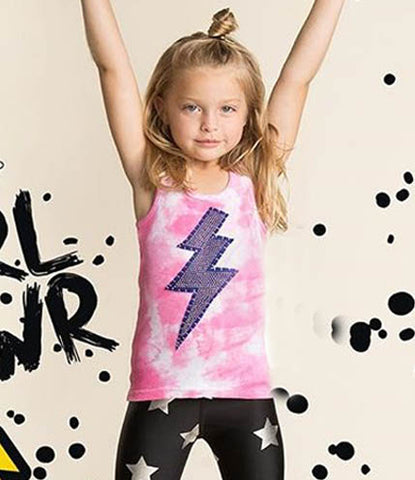 Lightning Bolt Bling Tank