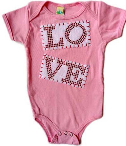LO-VE Bling Onesie