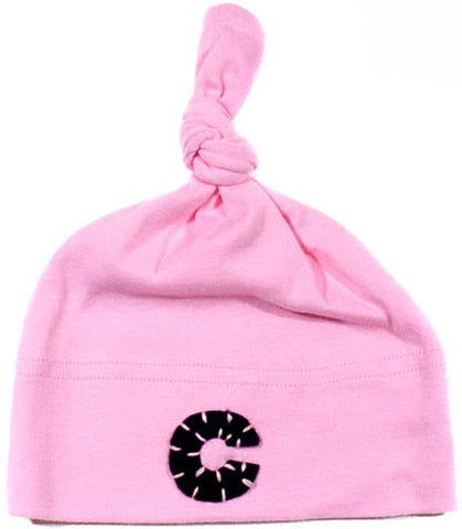 Pink Initial Hat