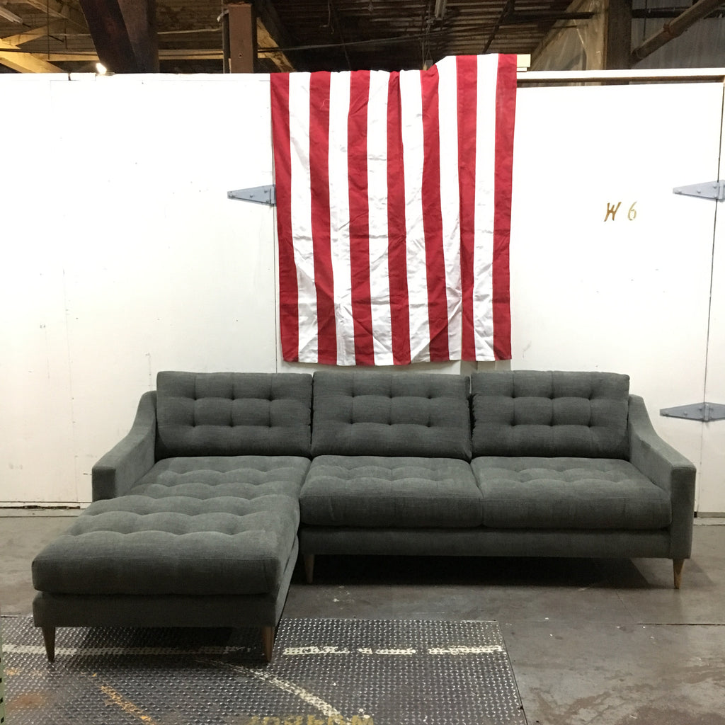 SOLD - Lawson Sofa Chaise Sectional on Clearance