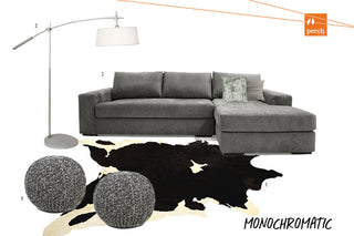Monochromatic Inspiration Board