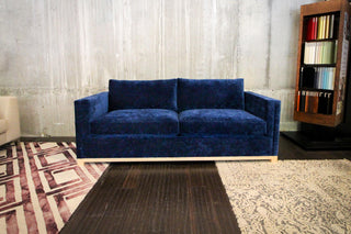 SOLD | Velvet Sleeper Sofa