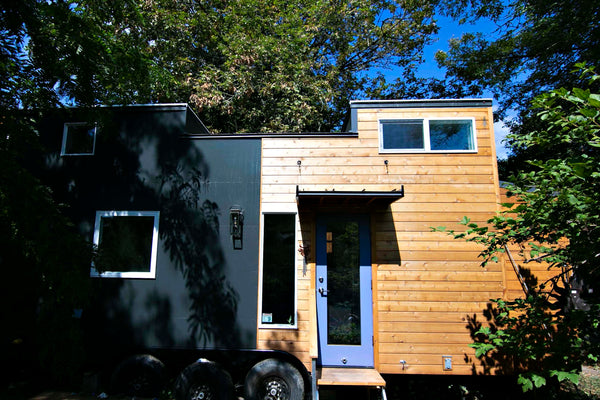 This bespoke tiny house was built by Tru Form Tiny of Eugene Oregon