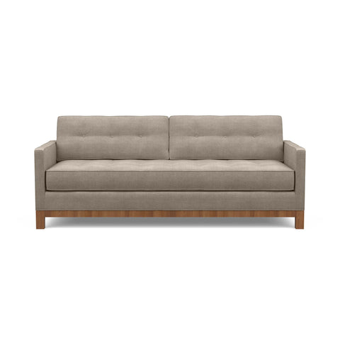 The charming Gracie sofa in taupe fabric