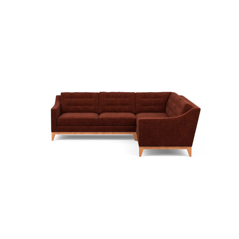 Refined Traditional Mid-century Design - The Lawson Sectional u2013 Perch Furniture  sc 1 st  Perch Furniture : lawson sectional - Sectionals, Sofas & Couches