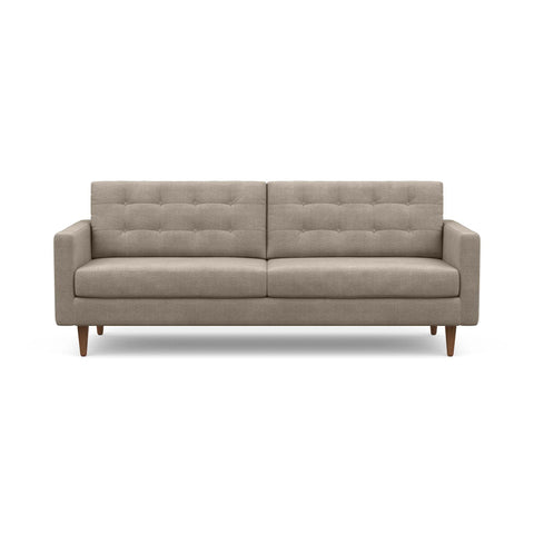 The mid-century modern Quinn Sofa in taupe