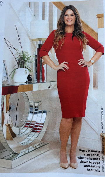 SPARKLE YOUR SPACE FEATURE IN OK MAGAZINE AT HOME WITH KERRY KATONA