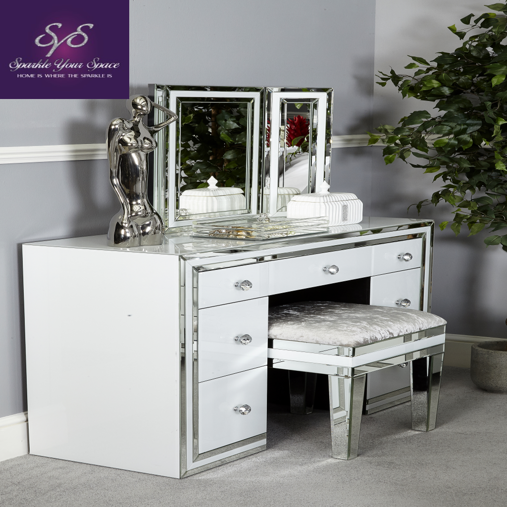 New White Glass Furniture , new look for the modern home