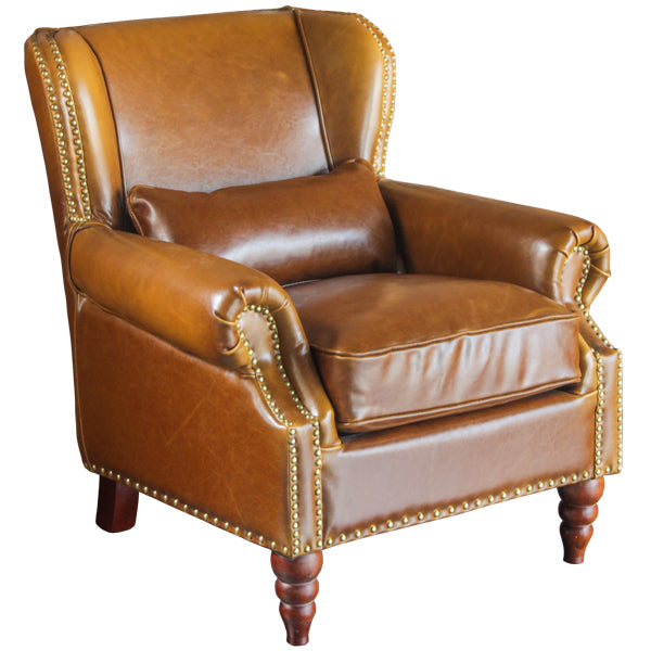 SILLON CUERO ELISA LIGH BROWN 532