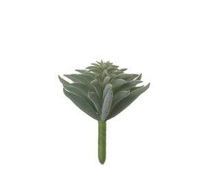 "4"" Succulent Stem - Flocked  SU1052"