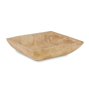 "17"" Square Sedona Wood Bowl   WD1003"