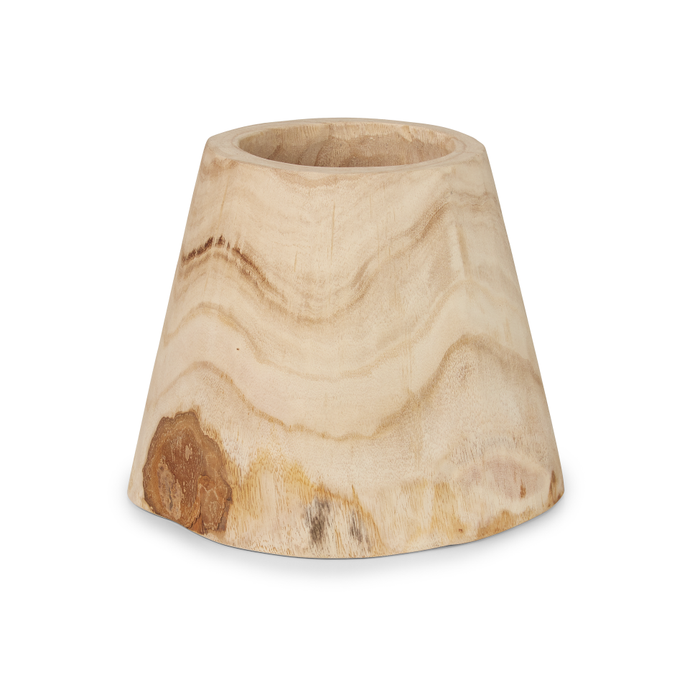 "12"" Tapered Sedona Wood Bowl   WD1010"
