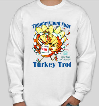 Long Sleeve T-shirt--Turkey Trot 2019 (Tax free, S&H included)