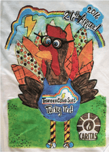Long Sleeve T-shirt--Turkey Trot 2016 (Tax free, S&H included.)