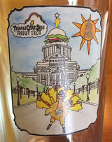 Pint Glass--2017 Turkey Trot Commemorative (Tax free, S&H included.)