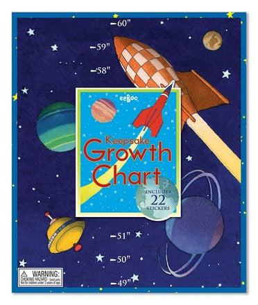 Eeboo Growth Chart - Space
