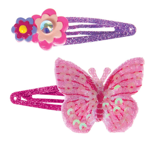 Great Pretenders Flit and Flutter Butterfly Hair Clips