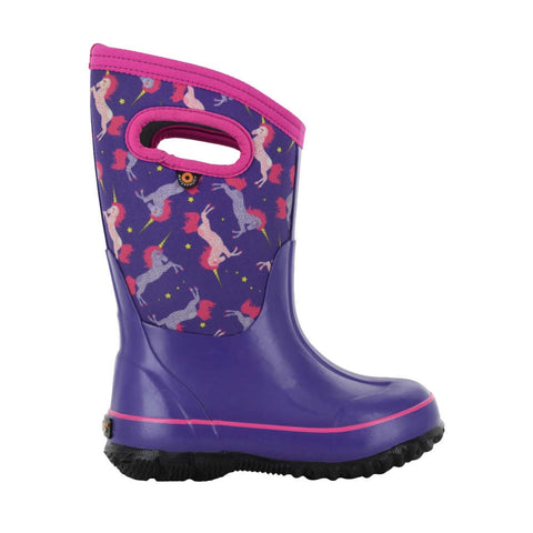 BOGS Winter Boots Classic Unicorn Purple