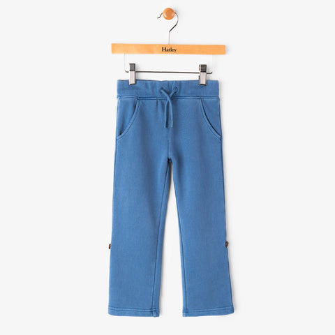 Hatley Garment Dyed Roll-Up Track Pants