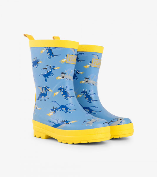 Hatley Classic Kids Rain Boot - Fire Breathing Dragons