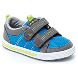 Stride Rite Logan Sneaker - Blue /Grey