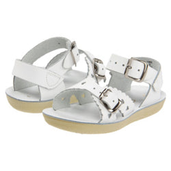 Salt Water Sandals White Sweetheart - Child