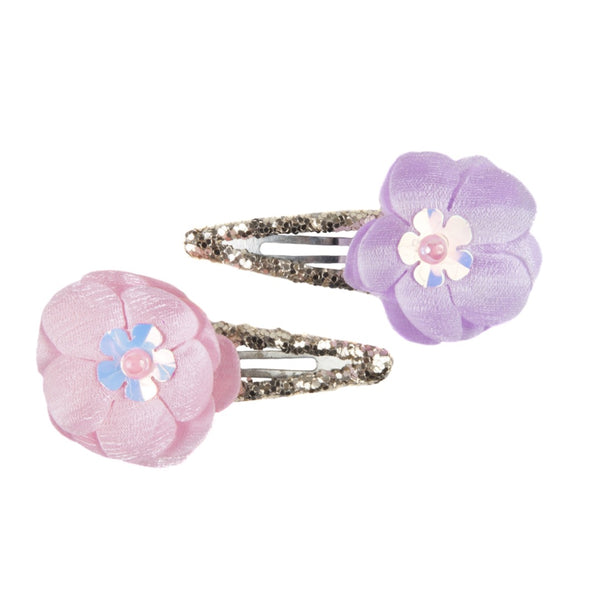 Great Pretenders Flower Sparkle Hair Clips