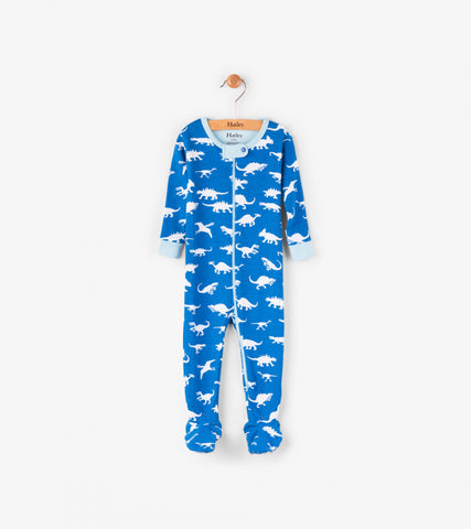 Hatley Mini Footed Coverall - Dinosaur Menagerie