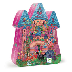 Djeco Silhouette Puzzle - The Fairy Castle