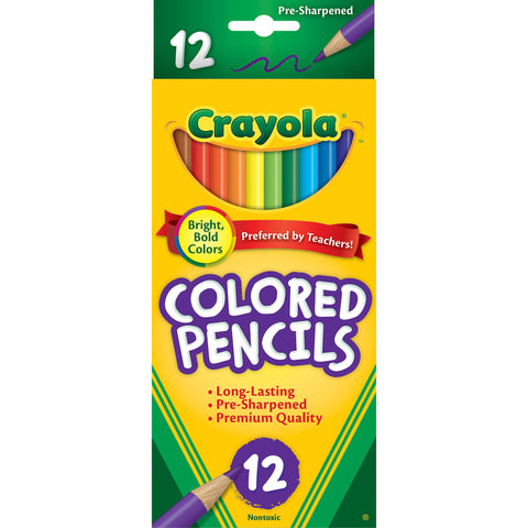 Crayola Coloured Pencils 12pack
