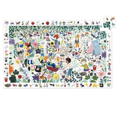 Djeco Observation Puzzle - 1000 Flowers 100 pc