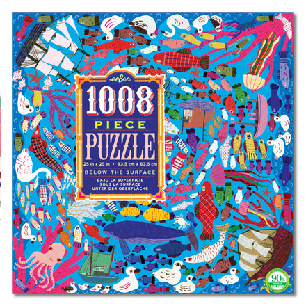 Eeboo Crazy Below the Surface Puzzle 500pc