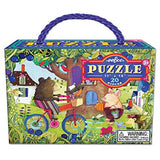 Eeboo Bear on Bicycle Puzzle - 20pc