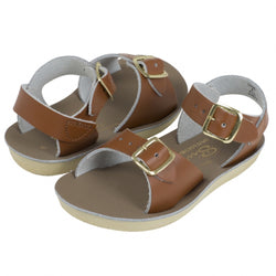 Salt Water Sandals Tan Surfer - Youth