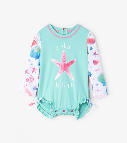 Hatley Friendly Ocean Treasures Baby Rashguard