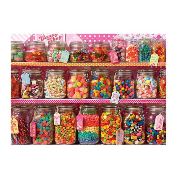 Cobble Hill Family Puzzle - Candy Counter