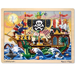 M&D Pirate Adventure Jigsaw