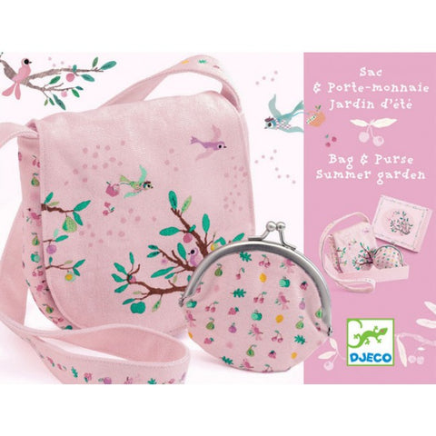 Djeco Bag and Purse - Summer Garden