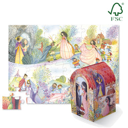 Snow White Puzzle Playset