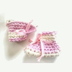 Sheepies Slippers - Pink and Cream