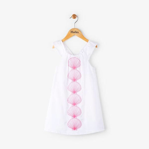 Hatley Scallop Shell Bow Back Dress
