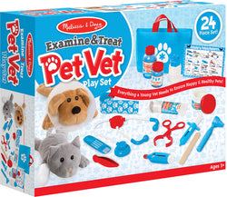 M&D Examine and Treat Pet Vet Play Set