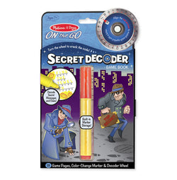 M&D Secret Decoder Game Book