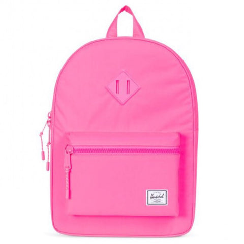 fdf6f027b3a Herschel Heritage Backpack Youth - Neon Pink Reflective – Halikids Inc