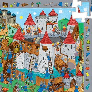 Djeco Observation Puzzle - Knights