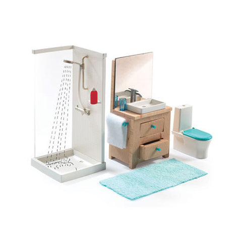 Djeco Doll Furniture - The Bathroom